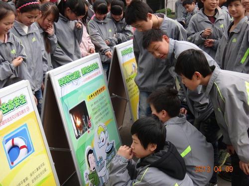 抚州市科协 市气象局联合开展气象科普进校园活动 -江西省青少年科
